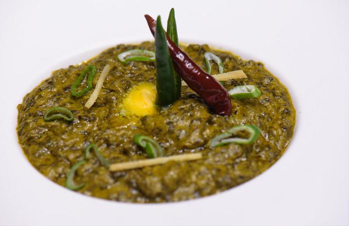 Saag Punjabi Dish