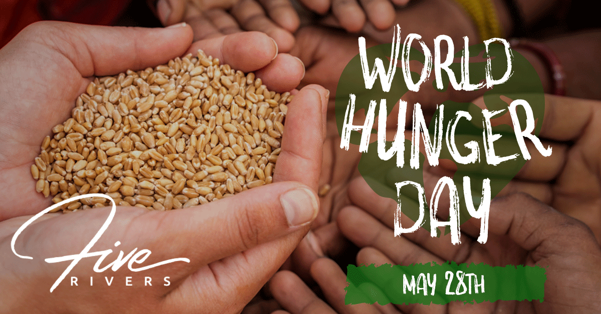 World hunger day charity cover image